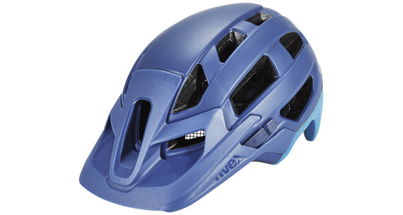UVEX finale Helm royal blue-cyan mat